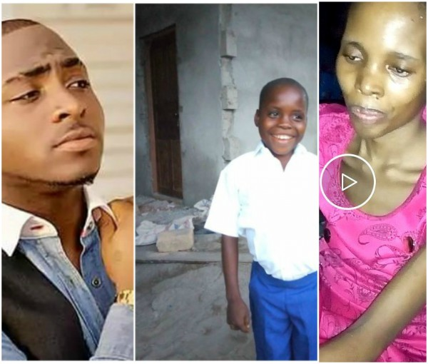 Photo of Utibe Whose Singing Caught Davido's Attention Loses His Mum