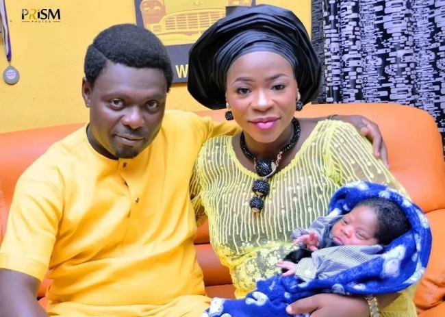 Photo of See Photos From Actor Kunle Afod's Son's Naming Ceremony