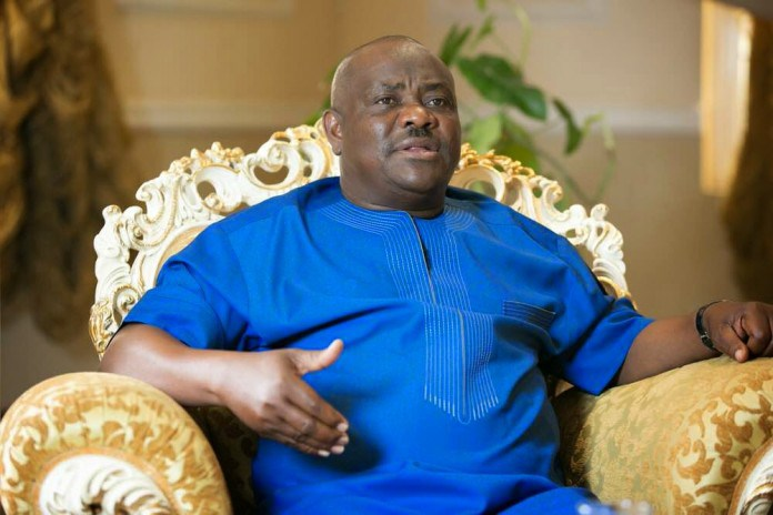 Governor Nyesom Wike of Rivers State.