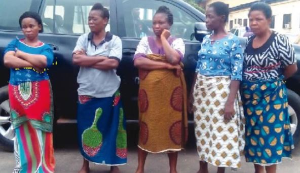 woman steal baby - But Why? Five Women Steal 3 Year Old Boy At A Funeral Ceremony, Sells Him For ₦600,000