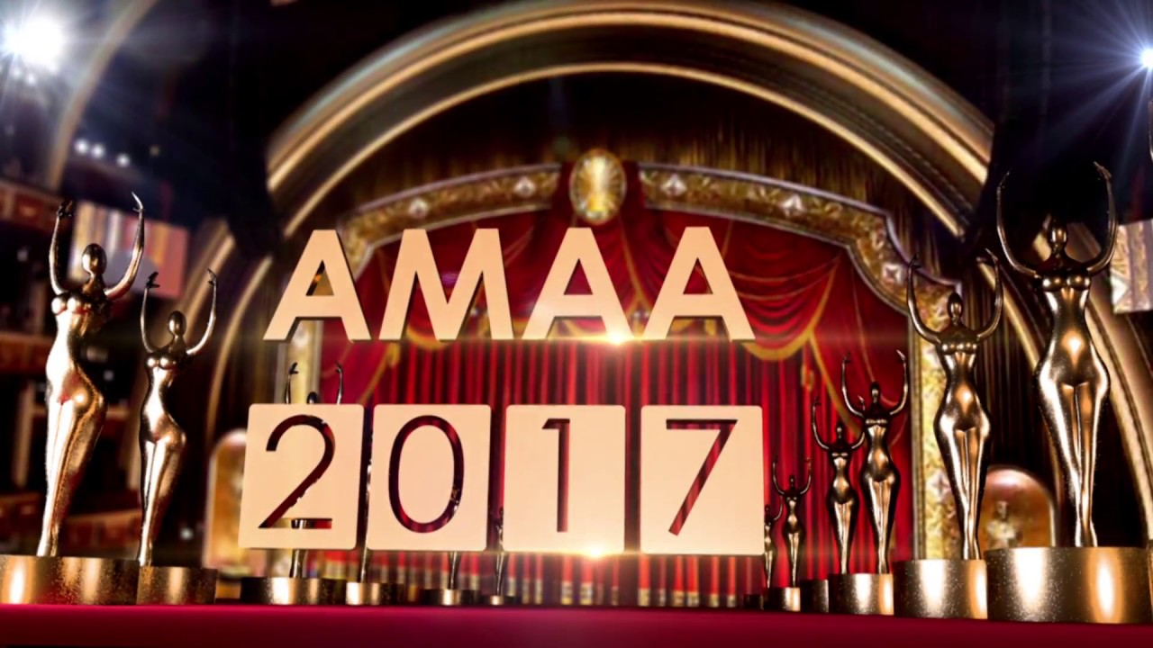 Photo of Full List of Winners at AMAA 2017