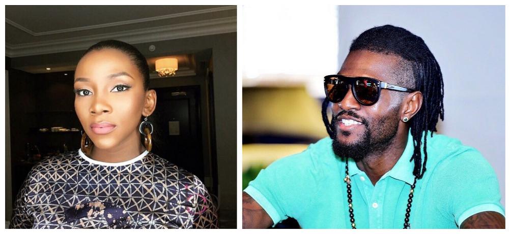Adebayor Gene - Emmanuel Adebayor Sparks Dating Rumours with Genevieve Nnaji On Instagram