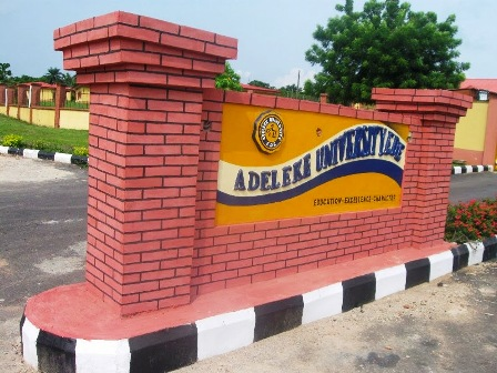 Adeleke University - Adeleke University Admission Screening Form For 2017/2018