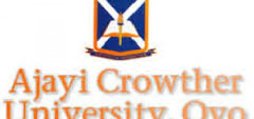 Ajayi Crowther University 520x245 1 - Ajayi Crowther University 1st Batch Undergraduate Admission List For 2017/2018