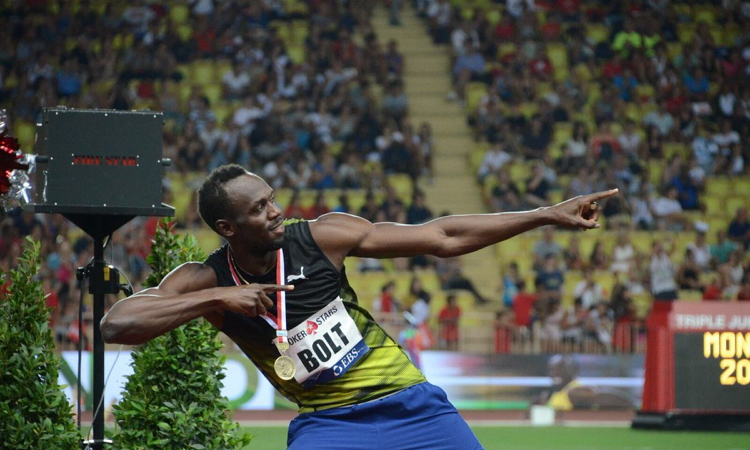 Photo of Usain Bolt Wins 100m Race at Diamond League In Monaco