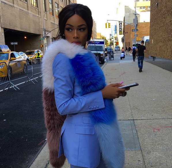 "Photo of South African TV Personality, Bonang Matheba Launches Emoji Line Called ""Bmoji"""