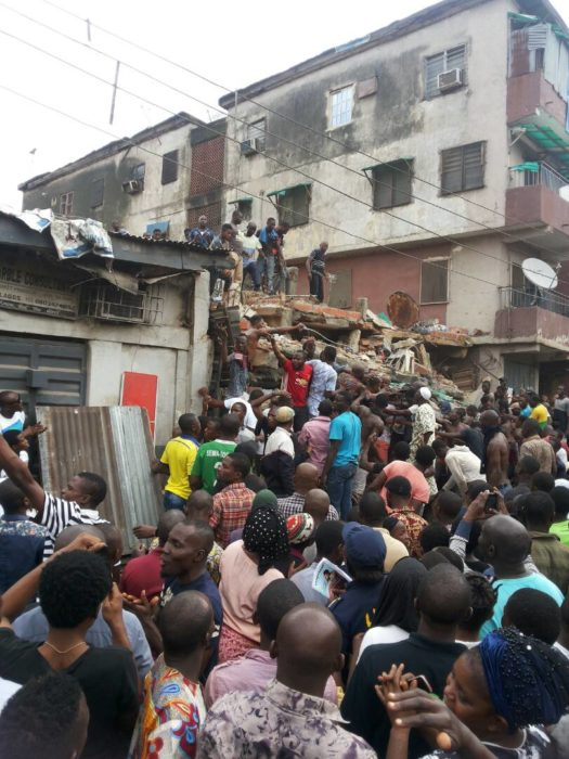 Photo of UPDATE! Death Toll Rises to 6 In Four-Storey Building Collapse In Lagos