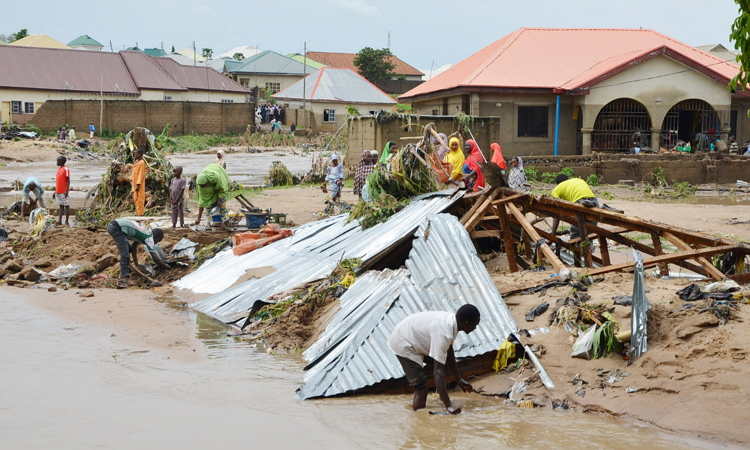 Flood - Early Morning Rainfall Causes Flood In Parts of Lagos