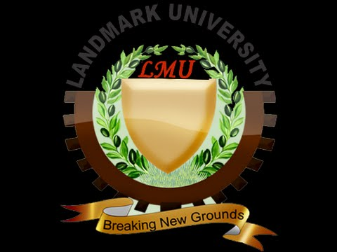 Photo of Landmark University 1st Batch Admission List For 2017/2018 Released