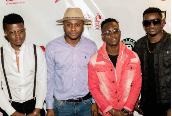 Photo of Ubi Franklin Signs Three New Artistes to Made Men Music Group