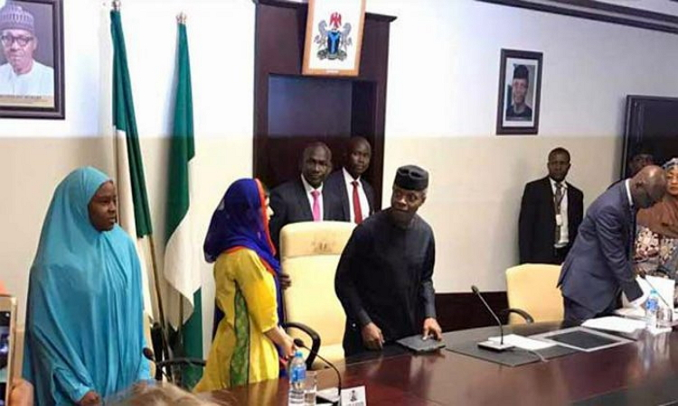 Photo of PHOTOS: Nobel Laureate, Malala Yousafzai Visits Acting President Osinbajo