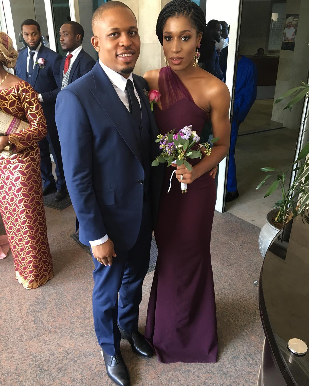 Naeto C and His Wife Celebrate Their Fifth Wedding Anniversary