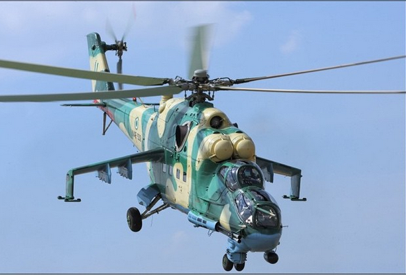 Photo of IN ENUGU: NAF helicopter crash lands