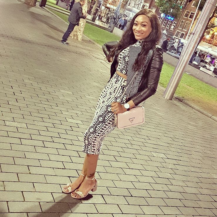 Photo of Nollywood Actress Oge Okoye Shares A Beautiful Photos with Her Son On A Vacation In London
