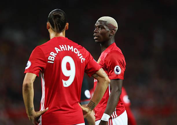 Pogba Ibrahimovic OkayNG - Pogba: Ibrahimovic Still A Leader At Old Trafford