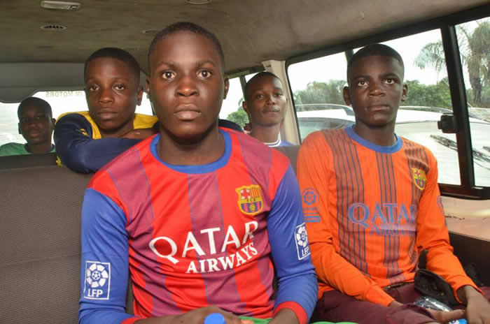 Released pupil2 - PHOTOS of Released Six Lagos School Students After 64 Days in Captivity
