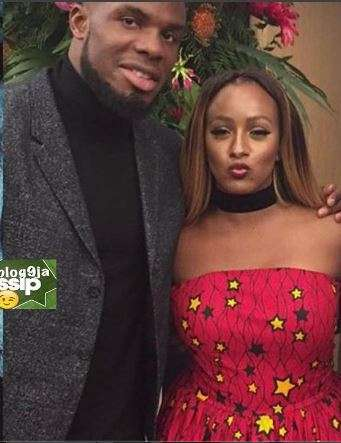Victor Anichebe and DJ Cuppy - Victor Anichebe Flies Girlfriend, DJ Cuppy To China