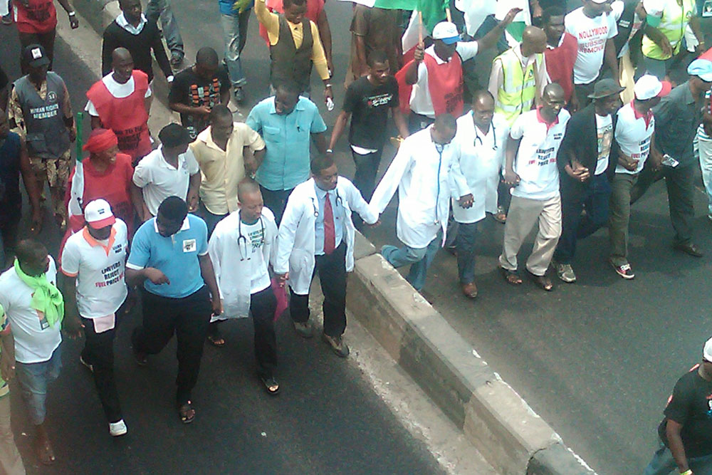 Rivers NMA Protest Over Kidnap Of Doctors