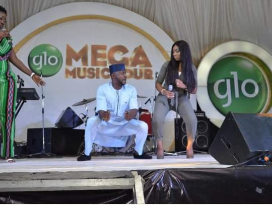 ebb1 - PHOTOS: Odunlade Adekola & Ebube Nwagbo Shows Off Their Dancing Skills