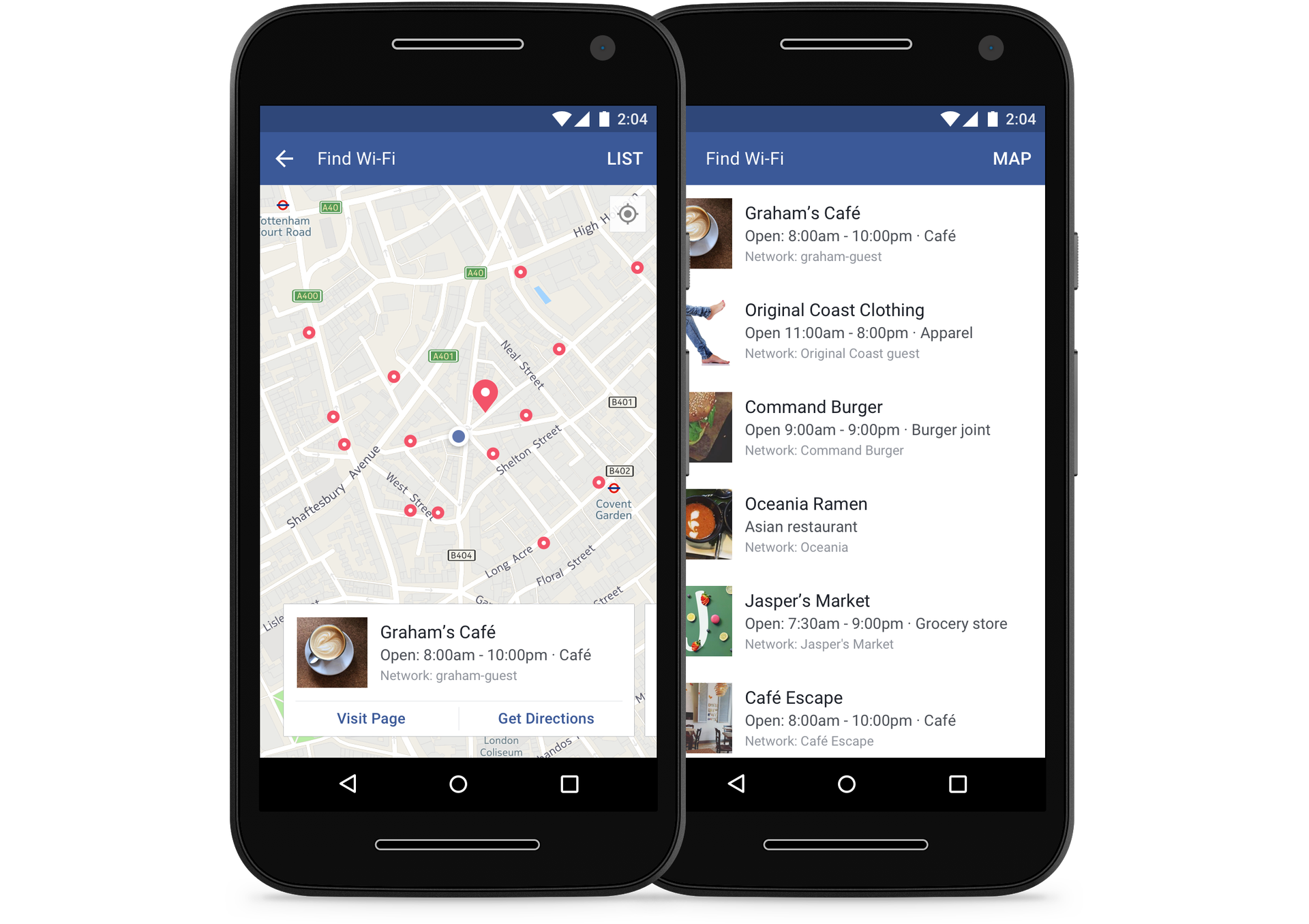 find wi fi android facebook - Facebook Add New Feature To Help Users 'Find Wi-Fi' Network