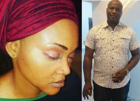 mercy2Baigbe2Bzenith2Bbank2Bmarketer - Mercy Aigbe Was Working As Zenith Bank Marketer When We Met, I've Never Beaten Her In My Life - Lanre Gentry
