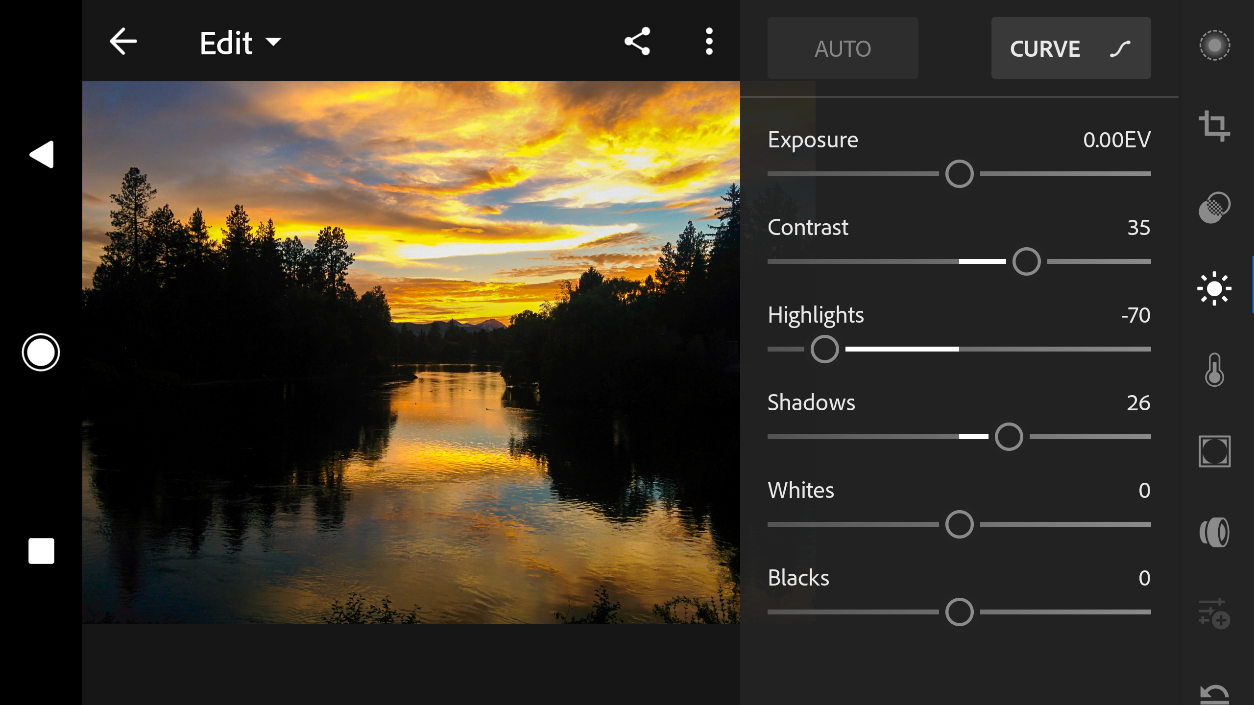 screenshot 20170718 102136 - Adobe Launches Updated Lightroom for Android