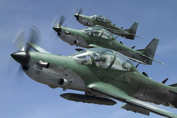 A 29 super tucano 600 - US Sells 12 Super Tucano Fighter Jets, Weapons to Nigeria