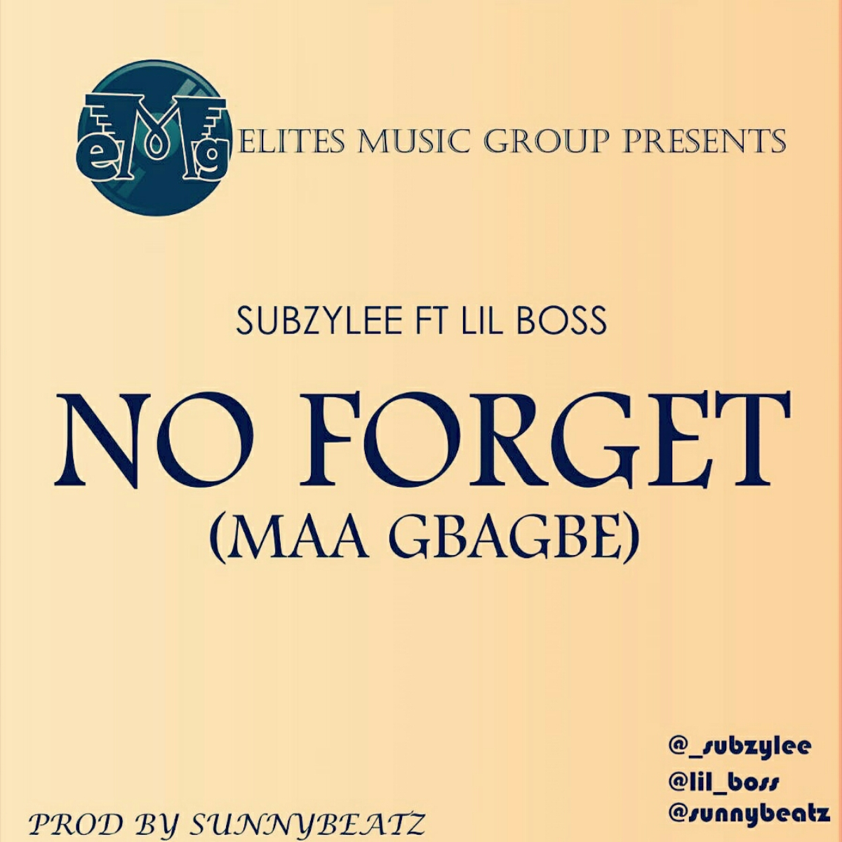 MUSIC: Subzylee ft. Lil Boss - 'No Forget'