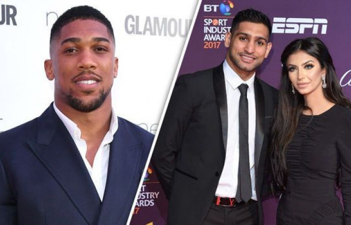 Photo of Anthony Joshua, Amir Khan Fight On Twitter Over Wife