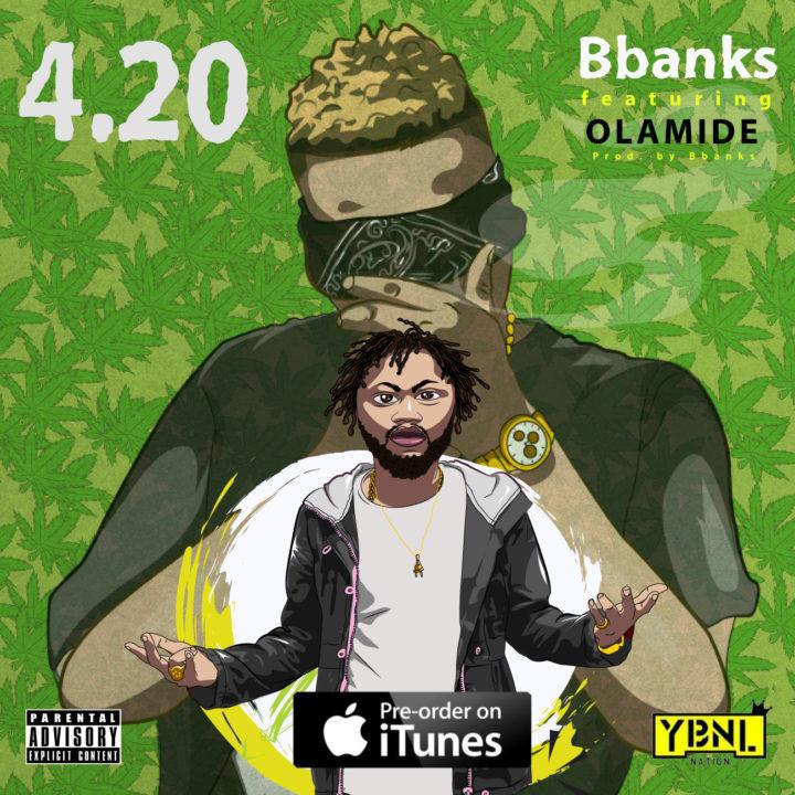 BBANKS 720x720 - MUSIC: B Banks Ft. Olamide – '4.20'