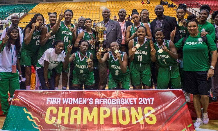 Photo of President Buhari Congratulates Nigeria's D'Tigresses After Winning 2017 FIBA Women Afrobasket
