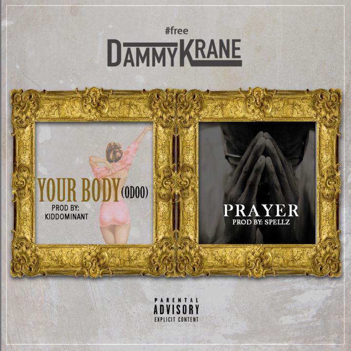 Dammy Krane Your Body Prayer 720x720 - MUSIC: Dammy Krane – 'Prayer'