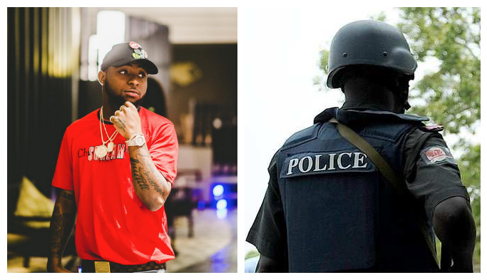 Davido Police - Policemen Attached to Davido Detained For Reckless Shooting