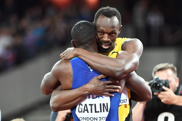 Photo of Justin Gatlin Beats Usain Bolt In 100m Final at IAAF World Championship