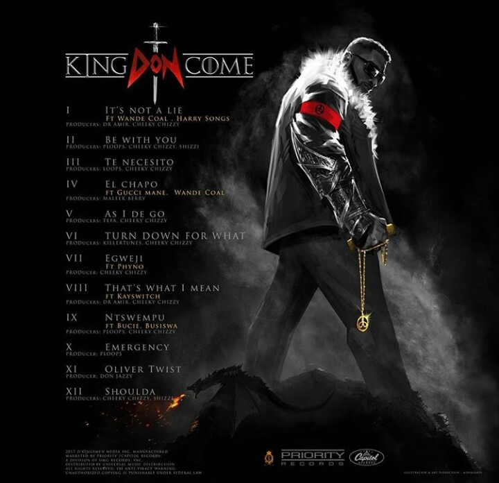 IMG 20170812 185805 649 - King Don Come: D'banj Releases 'EL CHAPO' Featuring Gucci Mane & Wande Coal
