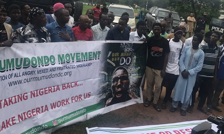 Photo of Anti-Buhari Group Suspends 'Resume Or Resign' Protest