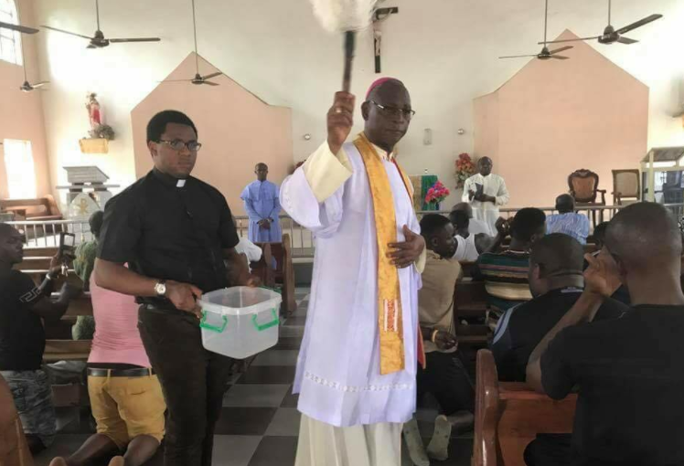 Photo of PHOTOS: Church In Ozubule Reopens After Last Sunday's Killing