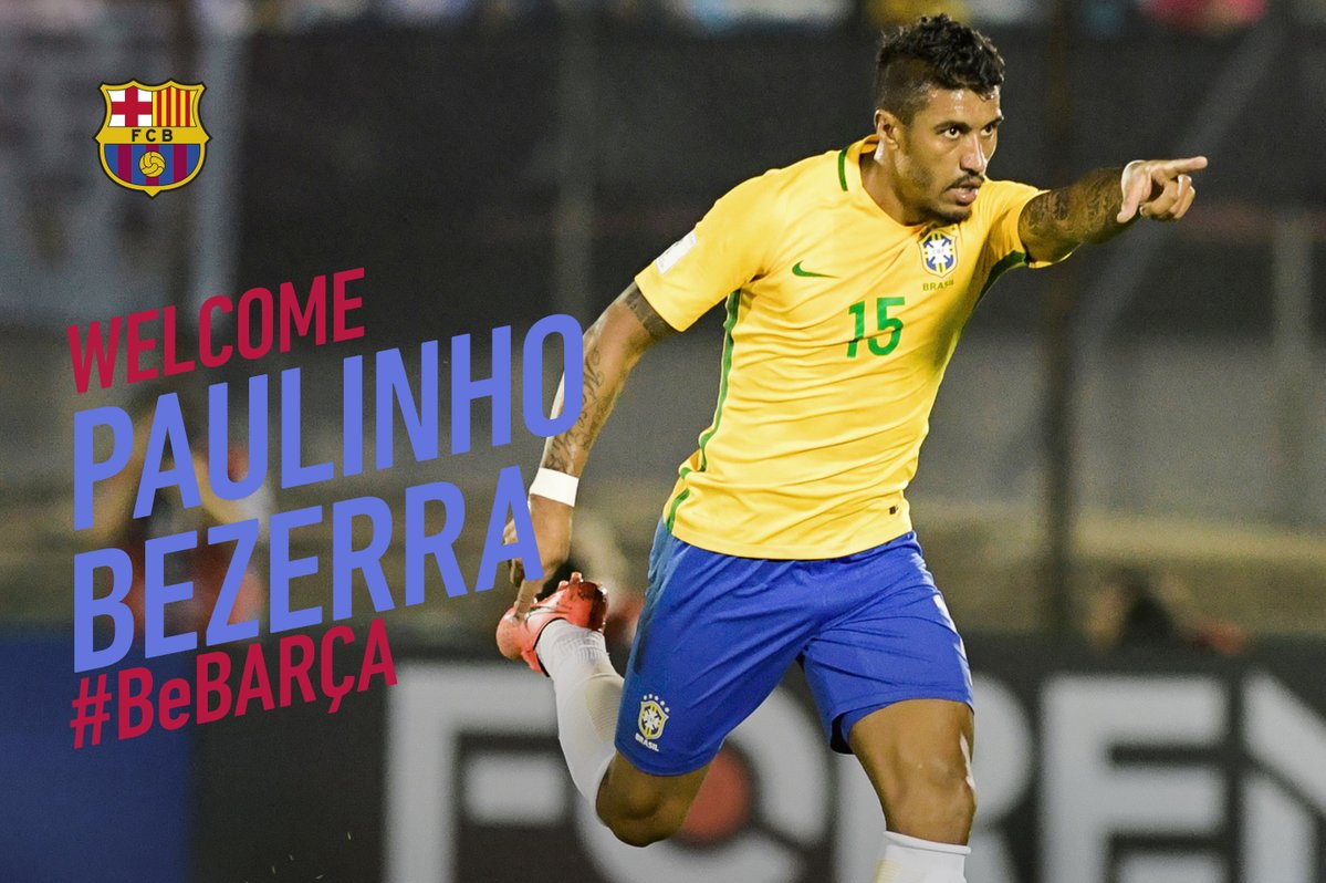 Photo of Barcelona Announce Signing of Paulinho from Guangzhou Evergrande