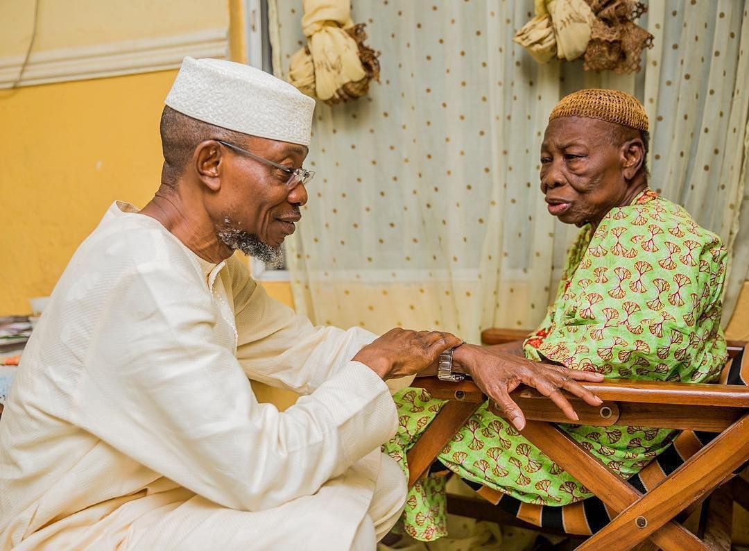 Photo of Governor Rauf Aregbesola Loses Mother