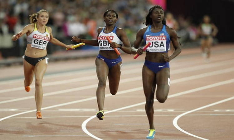 Photo of USA Wins Women's 4x100m Relay Gold