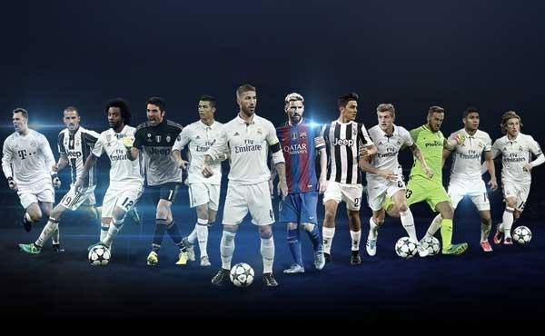 Uefa Awards p 1 - Ronaldo, Messi, Dybala Battle For UEFA Top Award