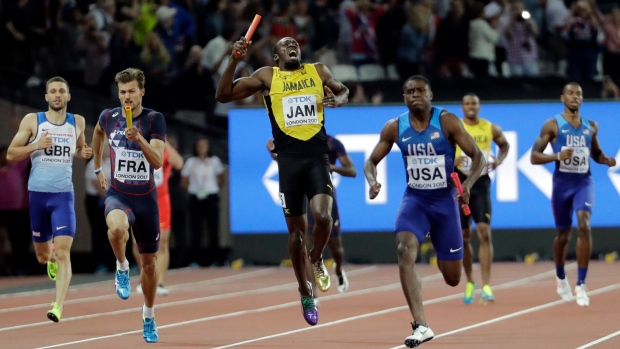Photo of Usain Bolt Gets Injured As Britain Win 4x100m Relay