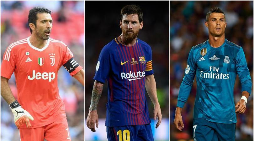 Photo of UEFA Shortlist Ronaldo, Buffon, Messi For 2017 Player of the Year Award