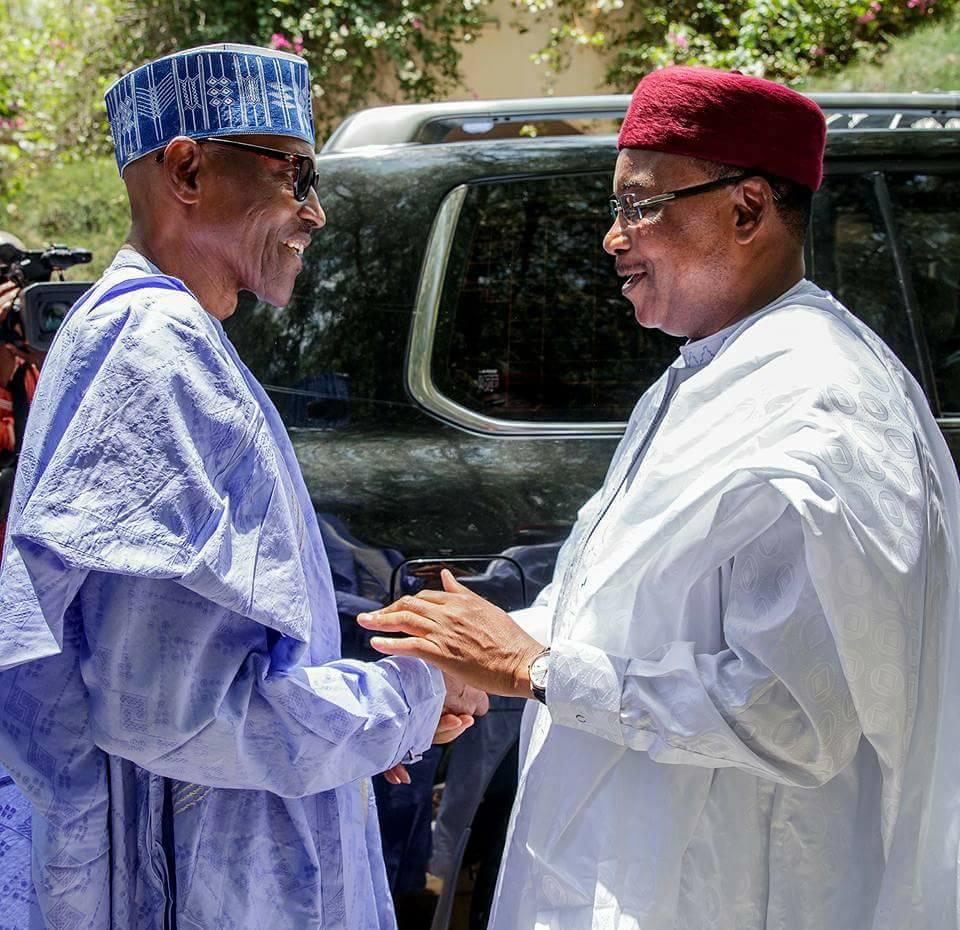 Buhari Niger President 1 - PHOTOS: President Buhari Receives Niger President In Daura