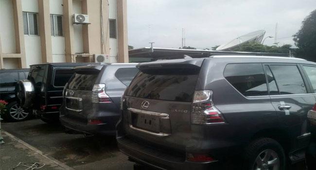 Customs Bullet 1 - PHOTOS: Nigeria Customs Service Intercept 18 Exotic Cars In Abuja