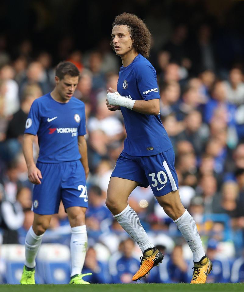 David Luiz - David Luiz Must Play Despite Broken Wrist Injury – Conte