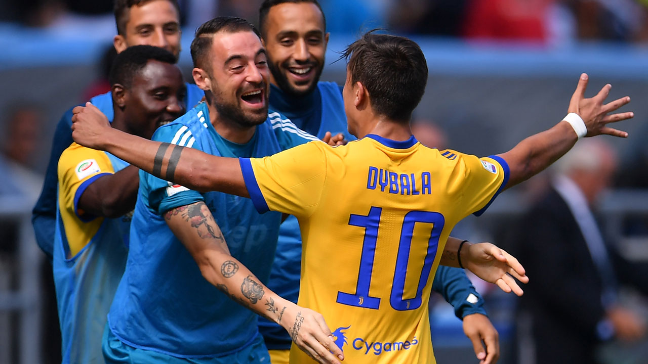 Dybala 1 - Serie A: Dybala hat-trick helps Juventus maintain perfect record