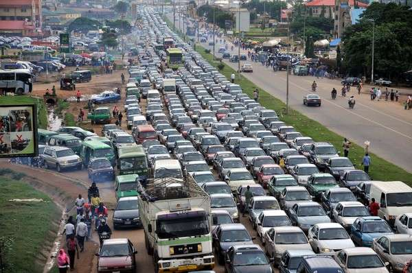 Lagos traffic - Forbes Ranks Lagos Third Worst City to Drive In the World