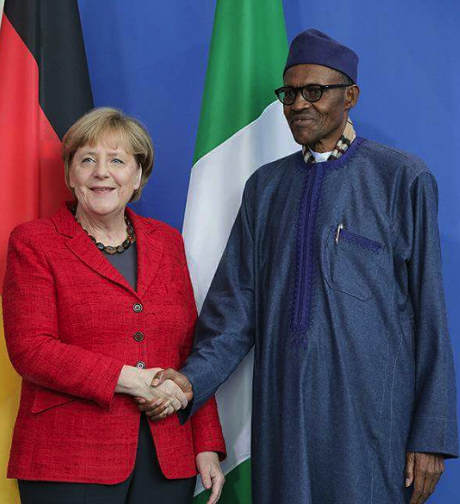 Photo of President Buhari Congratulates Angela Merkel On Victory at the Polls