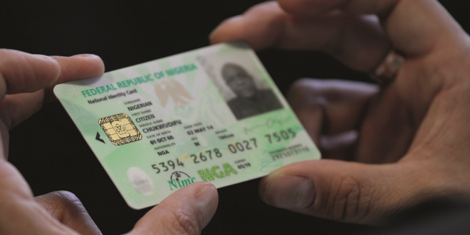 National ID card - FG Ready to Merge BVN, Driver's Licence, National Identity Card